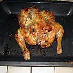 recette Crapaudine de poulet fermier