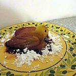 recette Pomme au four au sirop d'érable