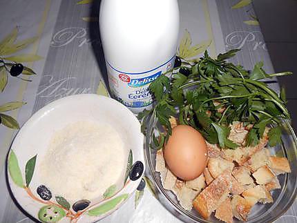 Canaderli et boeuf au bouillon 430