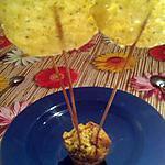 recette Sucettes parmesan et gruyère