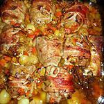 recette Paupiette de veau aux petits légumes