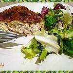 recette Tourte au poulet et champignons