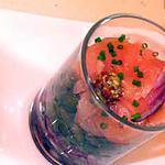 recette Lentilles drapées au saumon fumé
