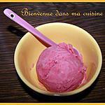 recette Glace à la fraise
