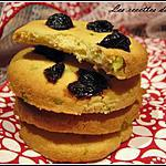 recette Palets bretons à la pistache et aux cerises confites