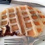 recette Gaufre avec de la pâte feuilletée Nutella