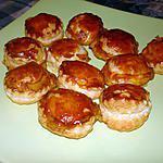 recette Mini feuilletée au boursin