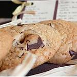 recette Cookies crousti-moelleux au chocolat et fleur de Sel