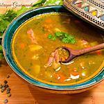 recette Soupe aux Lentilles Vertes à Ma Façon