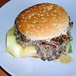 recette Burger de porc à la plancha