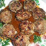 recette Boulettes de boeuf sauce épicée