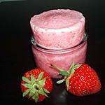 recette Soufflé glacé aux fraises (version allégée)
