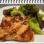 recette Sandwich chaud Monté Christo