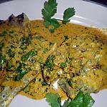 recette Tranches de gigot marinées  au yaourt et épices