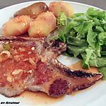 recette Côte de porc sauce charcutière