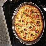 recette tarte saumon poireaux