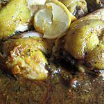 recette Poulet Marocain