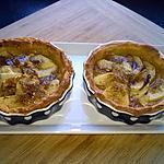 recette tartelettes pommes/abricot/citron vert