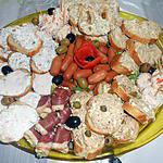 recette MON PETIT PLATEAU APERITIF