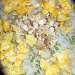 recette Riz cantonais au poulet