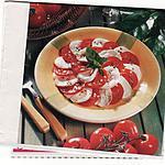 recette Salade de tomates à l mozzarella