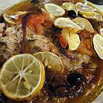 recette Poisson au four à la mode grecque