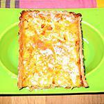 recette Tarte aux oignons