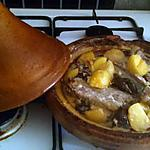 recette Cote d'agneau a la creme et pruneau