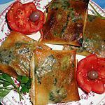 recette Croustillants aux foies de volaille