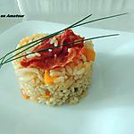 recette Risotto au chorizo et lard
