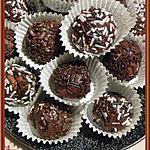 recette Boules chocolat et gavottes
