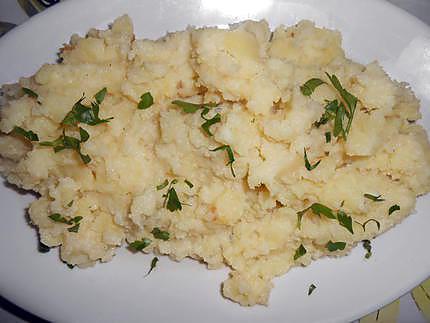 Écrasée de pommes de terre au beurre de saint agur 430