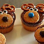recette Cupcakes rennes du pere noel