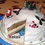 Biscuit de Noël à l'irish coffee