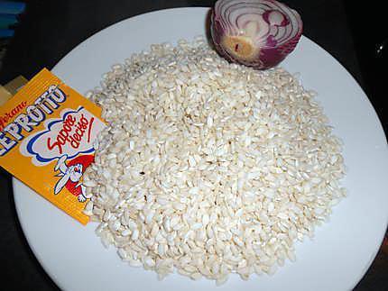 Risotto safran crevettes 430
