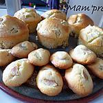 recette Muffins rhubarbe