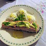 recette Pavé de saumon cuit au fer à repasser