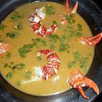 recette Nage de homard aux épices