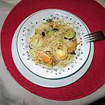 recette recette   gratin pates courgettes chévre noix d ephémére   62  a ma façon