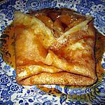 recette crepe a la clémentine et au miel