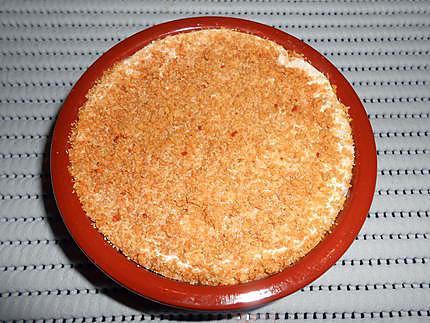 Camembert au four charcuterie et polenta 430
