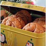 recette ~Biscuits au chocolat blanc, moelleux-croquants~