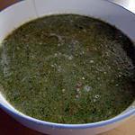 recette Soupe onctueuse au broccoli