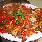 recette Cotes de porc grillées basquaise