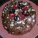 recette Gâteau chocolat-Framboises.