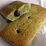 recette financier au thé vert