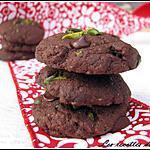 recette Mini cookies choco-pistache