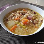 recette Soupe aux céréales gourmandes et légumes
