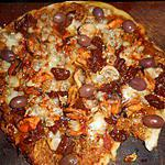 recette Pizza aux moules et aux coques