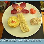 recette Assiette découverte aux trois saveurs : Rillette de thon au pamplemousse